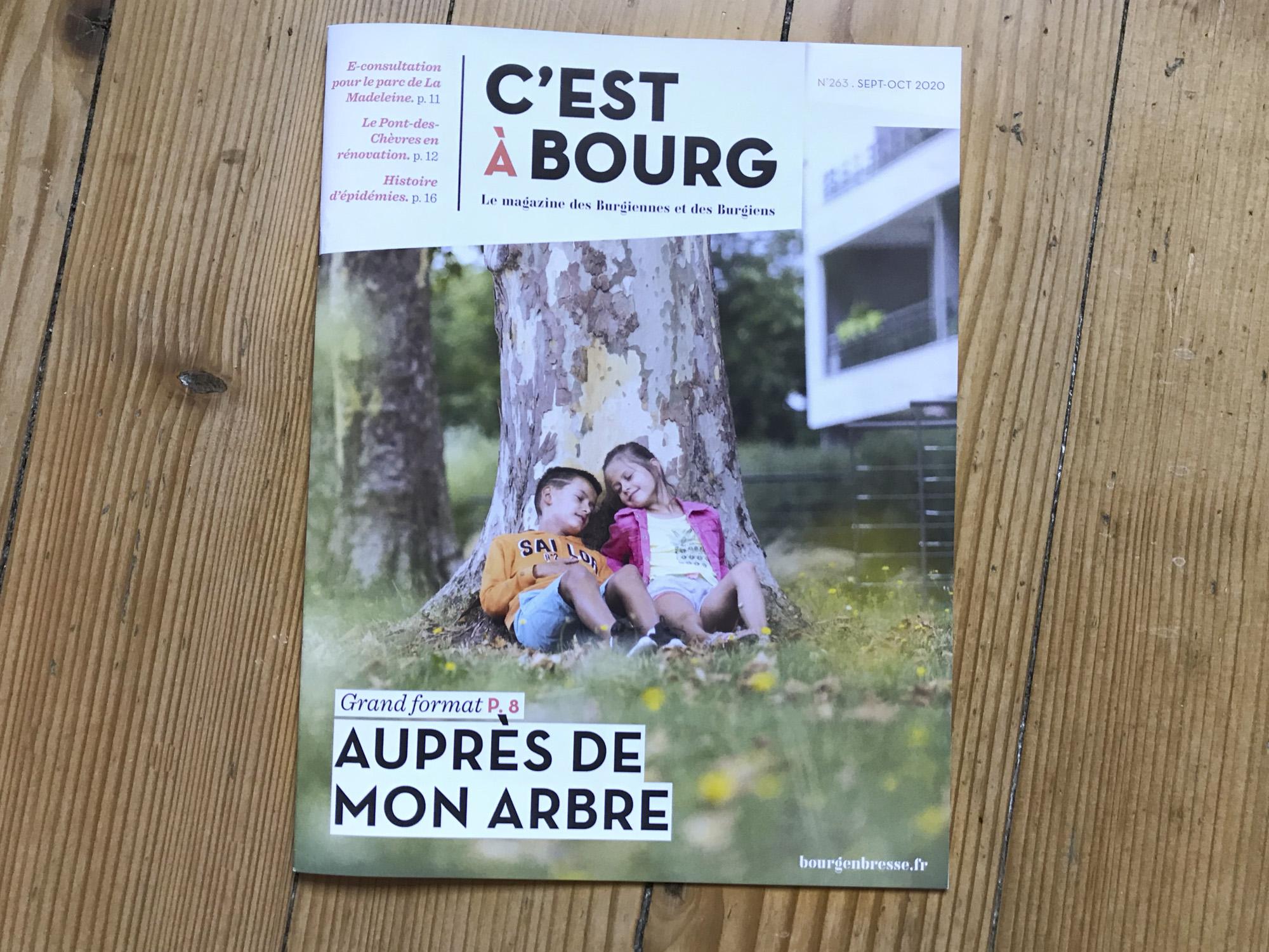 Photo couverture magazine cest a Bourg
