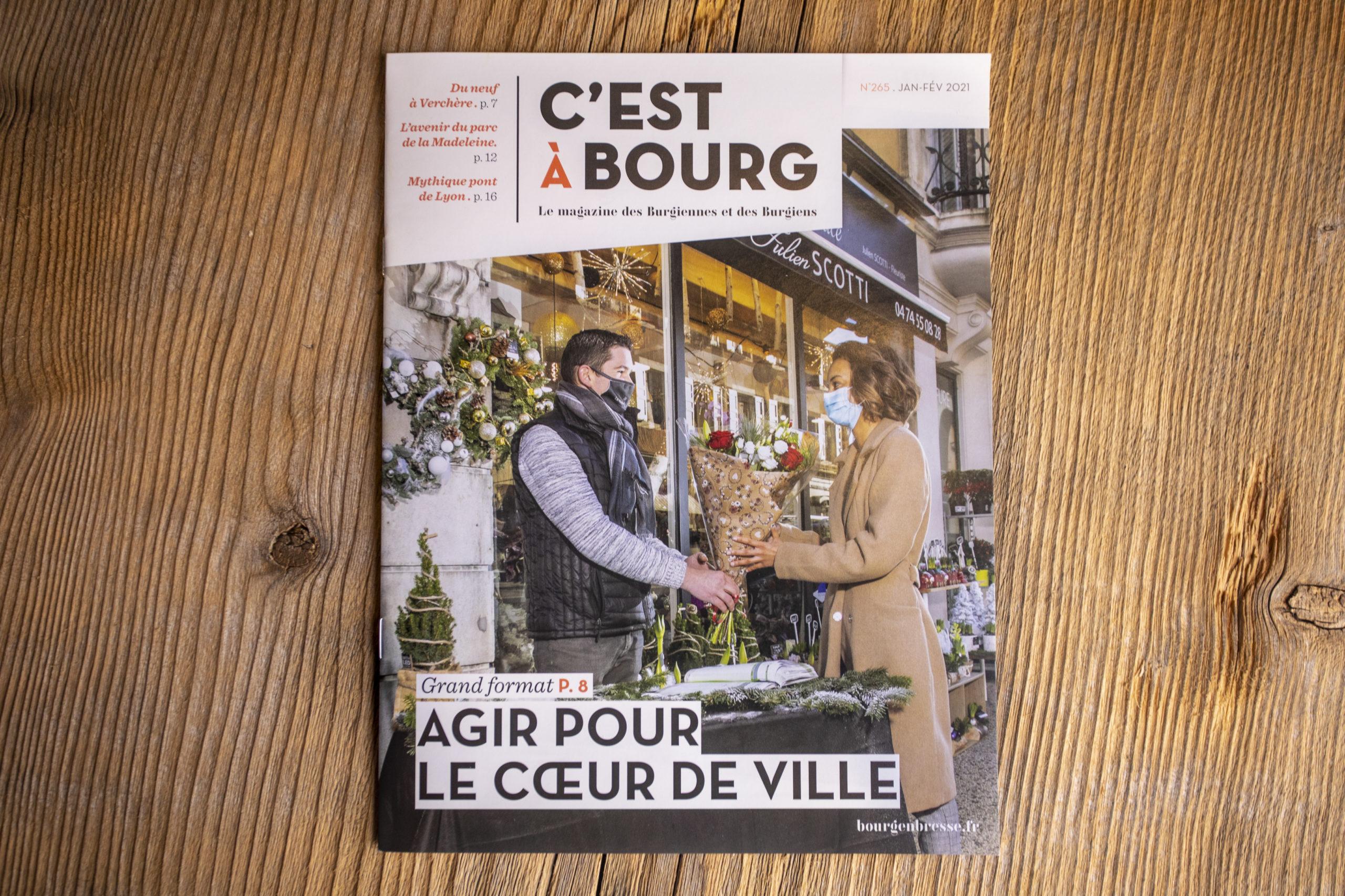 photo couverture magazine ville de Bourg-en-Bresse