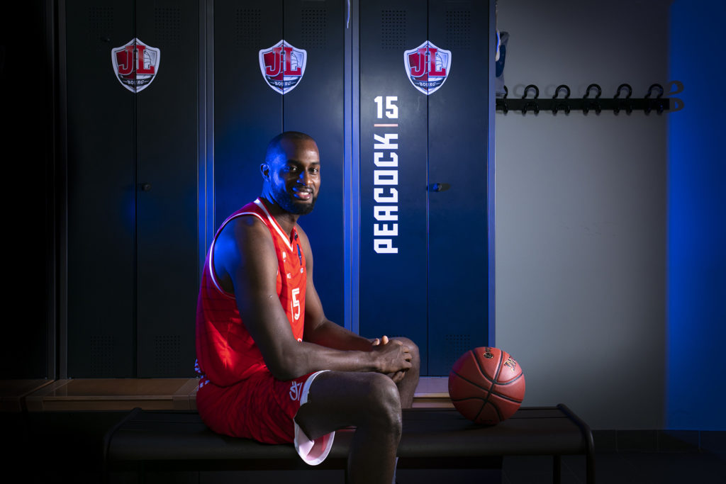 Portrait Zachery Peacock JL Bourg Basket